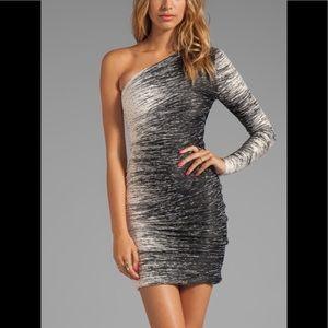 NWT Halston Heritage One Shoulder Dress